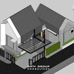 MRE HOUSE: Rumah tinggal  oleh ORTA GROUP, Modern