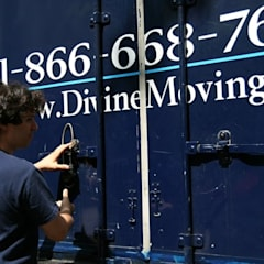 Office buildings by Divine Moving and Storage NYC,
