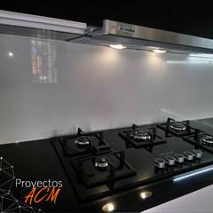 : Cocinas equipadas de estilo  por ANDRES COCINAS Y MARMOL S.A.S.,