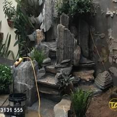 مسبح حديقة تنفيذ CÔNG TY TNHH ĐÁ TƯ NHIÊN THIÊN AN , أسيوي حجر