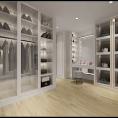 Dressing room by 立騰空間設計, Classic
