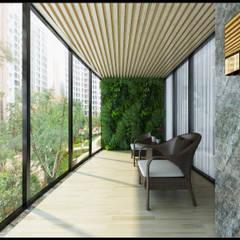 Balcony توسط立騰空間設計, کلاسیک