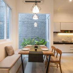 Interior Tomang House Ruang Makan Modern Oleh PT Membangun Harapan Sukses Modern Kayu Wood effect