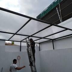 Lean-to roof توسطHerrería Querétaro
