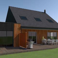Casas unifamiliares de estilo  por KER I.M.M.O.,