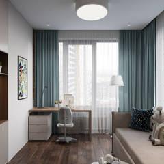Teen bedroom by Дизайн студия 'Декотренд',