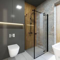 ห้องน้ำ โดย GACKOWSKA DESIGN,