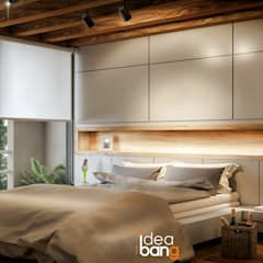 Bedroom by IdeaBang, Rustic