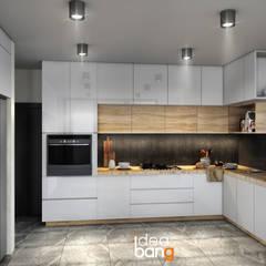 مطبخ ذو قطع مدمجة تنفيذ IdeaBang