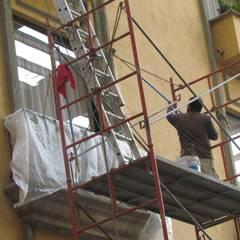 Study/office by JMR TODO EN CONSTRUCCION, REMODELACION Y ACABADOS, Industrial Concrete