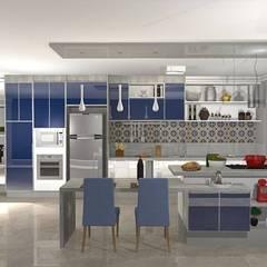 Kitchen units by Ivy Mello Arquitetura Construção e Interiores, Classic