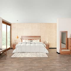 Small bedroom by Muebles Dico, Modern