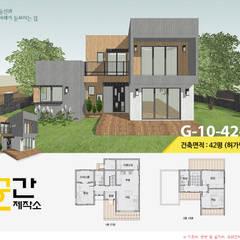 공간제작소 설계사례 #10: 공간제작소(주)의  목조 주택,모던
