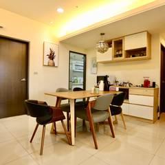 Dining room by 藏私系統傢俱, Minimalist
