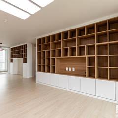 부천 상동 사랑마을 39py: 곤디자인 (GON Design)의  거실,모던