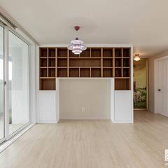 부천 상동 사랑마을 39py: 곤디자인 (GON Design)의  주방,모던