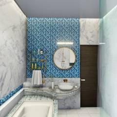 حمام تنفيذ bekal interior, أسيوي بلاط