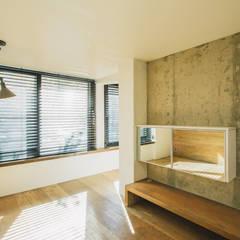 하계동 장미 아파트|Residence: 므나 디자인 스튜디오의  침실,에클레틱 (Eclectic)