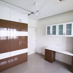 Modern study/office by Interios by MK Design Modern