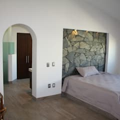 Small bedroom by Rabell Arquitectos,