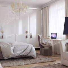 ЖК «Волга»: Маленькие спальни в . Автор – 'INTSTYLE',