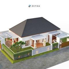 """GRIYA ANJAS """" PALANGKARAYA"""": Rumah tinggal  oleh zetka arsitek, Minimalis Besi/Baja"""
