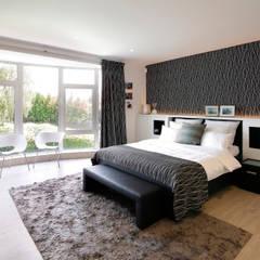 Moderne villa bij Antwerpen Moderne slaapkamers van Marcotte Style Modern Marmer