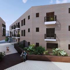 Hotel El Retiro: Casas de estilo  por HD Arquitectura, Colonial