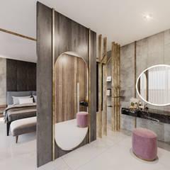 Torre Deco Dormitorios modernos: Ideas, imágenes y decoración de T + T arquitectos Moderno