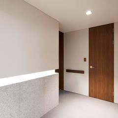 기흥구 D 아파트| Residence: 므나 디자인 스튜디오의  벽,모던