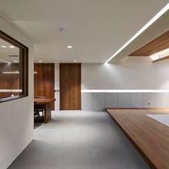 기흥구 D 아파트| Residence: 므나 디자인 스튜디오의  거실,모던