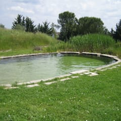 Swimming pond by Rigenera, Country