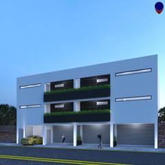 Terrace house by GVR ARQUITECTOS, Minimalist Concrete
