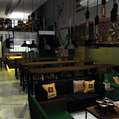 Bars & clubs by Poli Branding Design e Arquitetura Comercial, Industrial