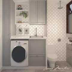 BANHEIROS E LAVANDERIAS Banheiros clássicos por Arquiteta Joana Monteiro Clássico