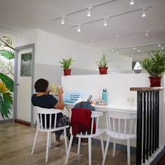 BHive Co-Working PH:  Offices & stores by Manalese Architecture + Design, Tropical