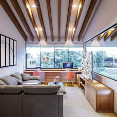 Media room by Urbyarch Arquitectura / Diseño,