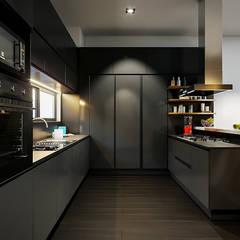 Cocinas de estilo  por Urbyarch Arquitectura / Diseño, Industrial