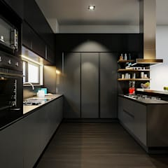 مطبخ تنفيذ Urbyarch Arquitectura / Diseño, صناعي
