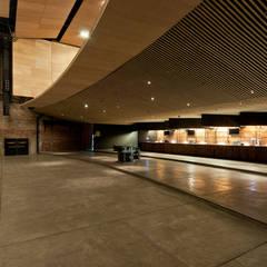 صالة مناسبات تنفيذ Monolito Construcciones,
