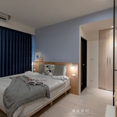 Small bedroom by MSBT 幔室布緹,