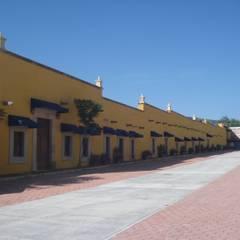 Projekty,  Domowe biuro i gabinet zaprojektowane przez Grupo Colosa Tecnologia, S.A. de C.V.,