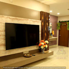 Living room by Meticular Interiors LLP, Modern