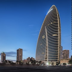 National Trade Center:  Study/office by Architecture by Aedas, Classic Metal