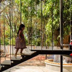 Taller del patioが手掛けた階段, インダストリアル 鉄/鋼