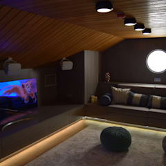 Media room by Rusinstall, Scandinavian