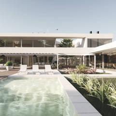 Residencia CS: Casas unifamiliares de estilo  por D'ODORICO ARQUITECTURA,Moderno