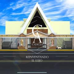 Trung tâm triển lãm theo CADICZA | Arquitectos ,