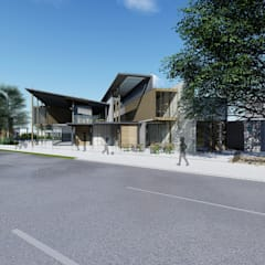 滑步車親子園區 根據 尋樸建築師事務所 工業風