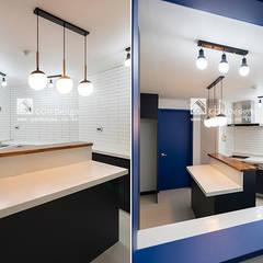은평뉴타운 상림마을 푸르지오 아파트 41PY: 곤디자인 (GON Design)의  주방,